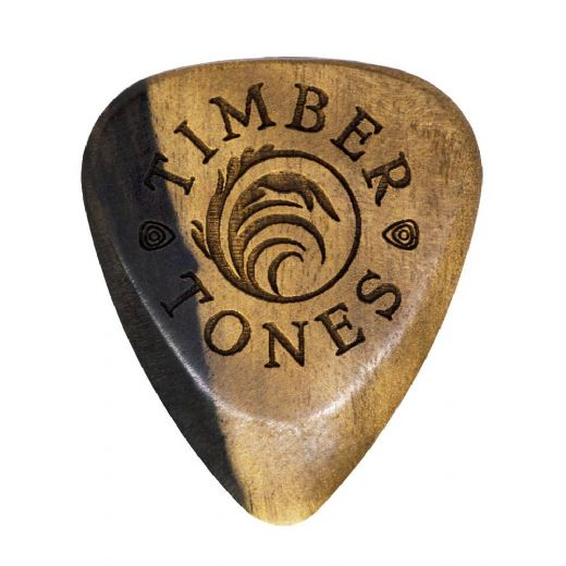 Timber Tones Grip Malay Ebony 1 Guitar Pick